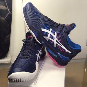 ASICS Court FF 2 Shoe - Women's Tennis - Blue.